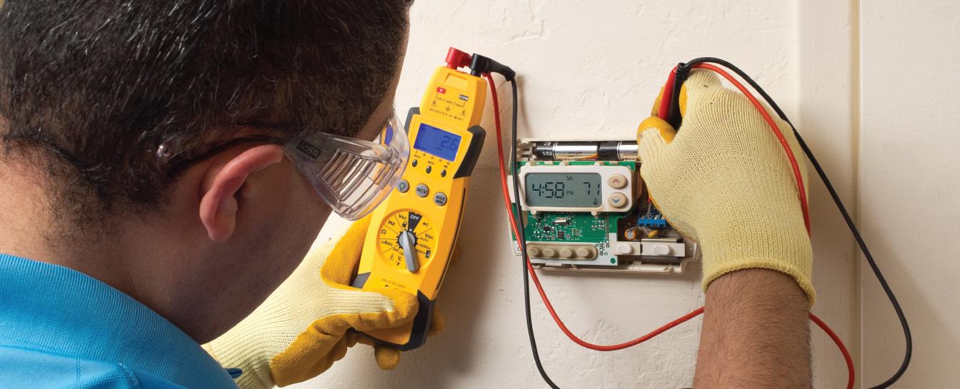 AC thermostat repair