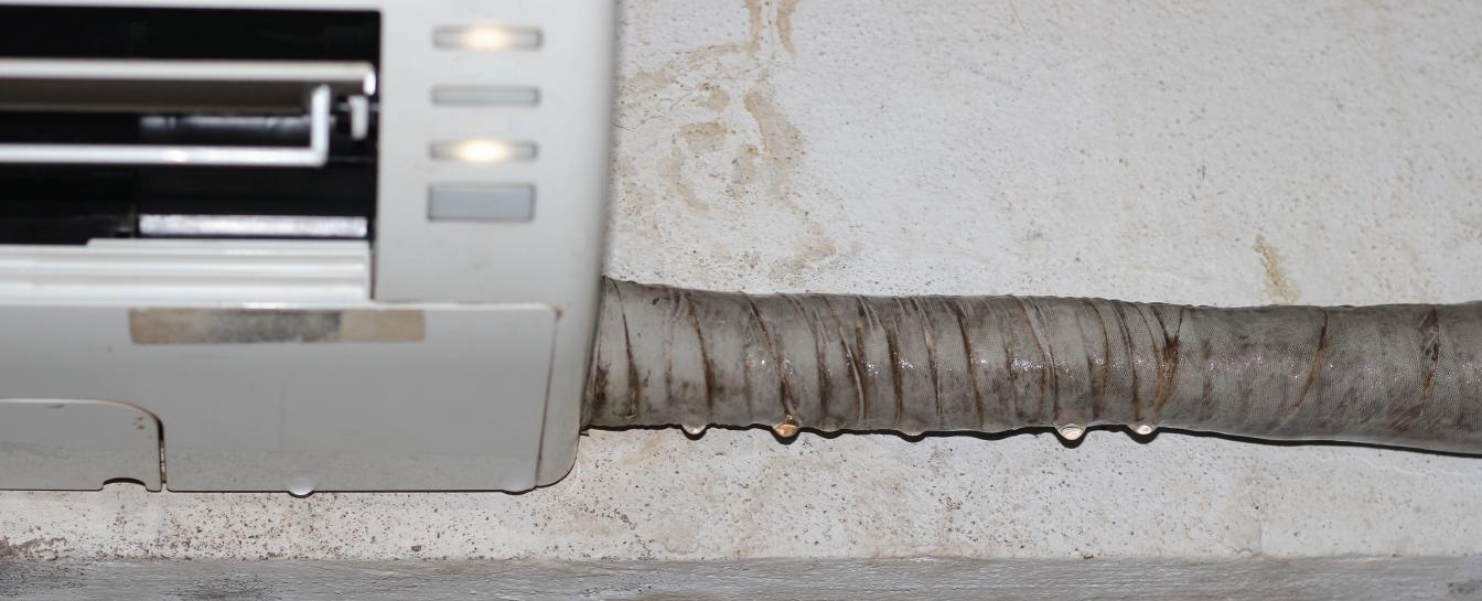 AC leakage repair