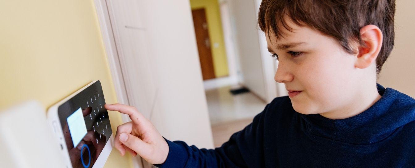 Burglar alarm or video doorbell installation