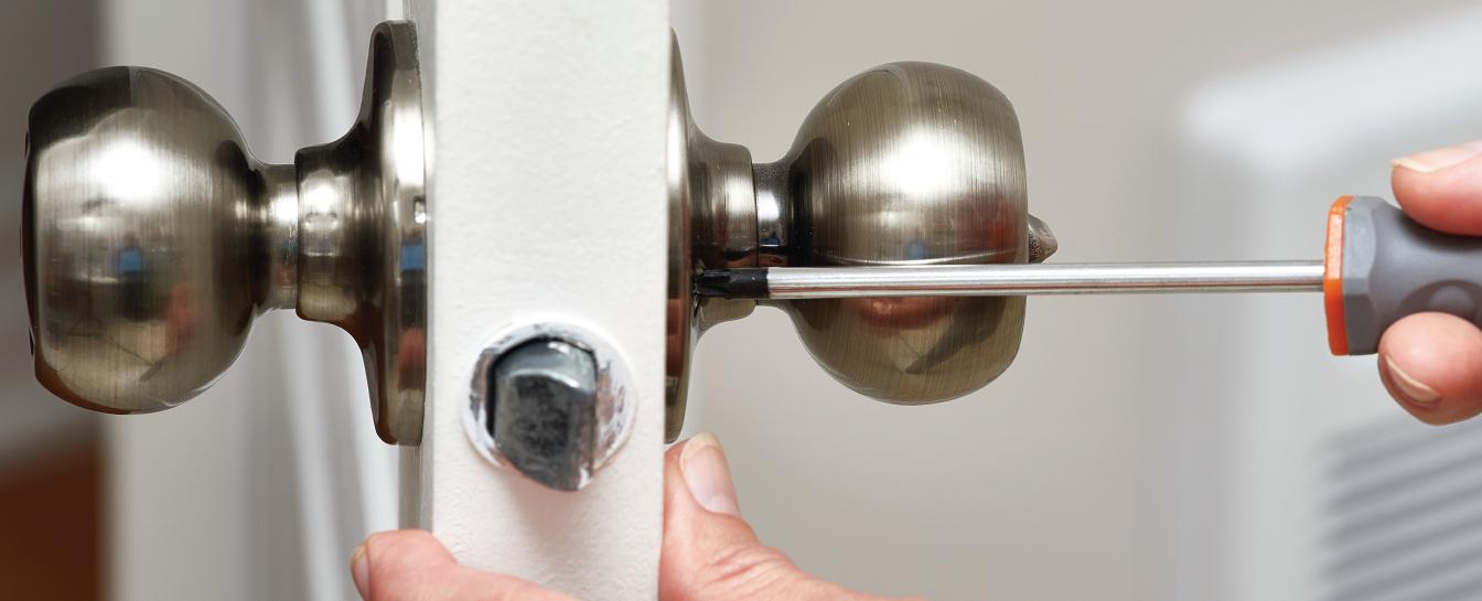 Door locks and knobs repair or locksmith
