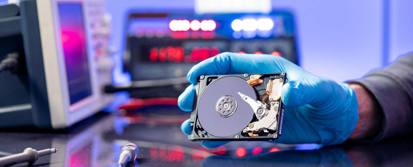 Hard disk drive data recovery