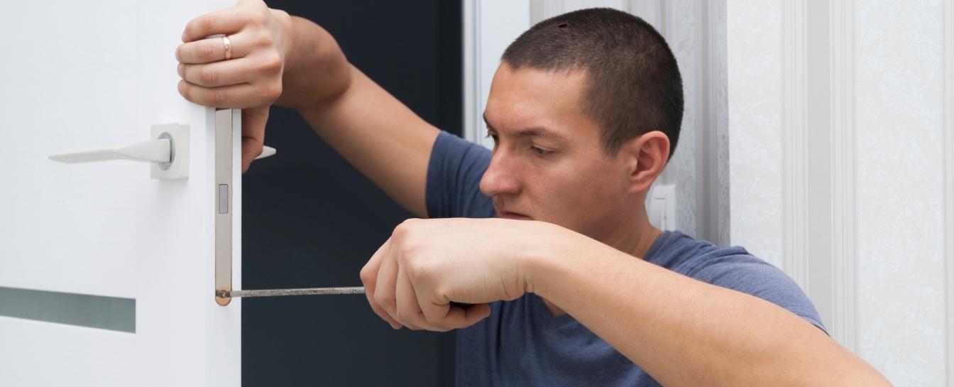 Metal door and window repair