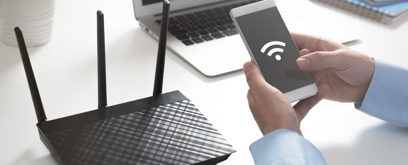 Wi-Fi router or extender installation