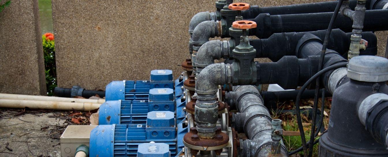 Water pump or motor repair