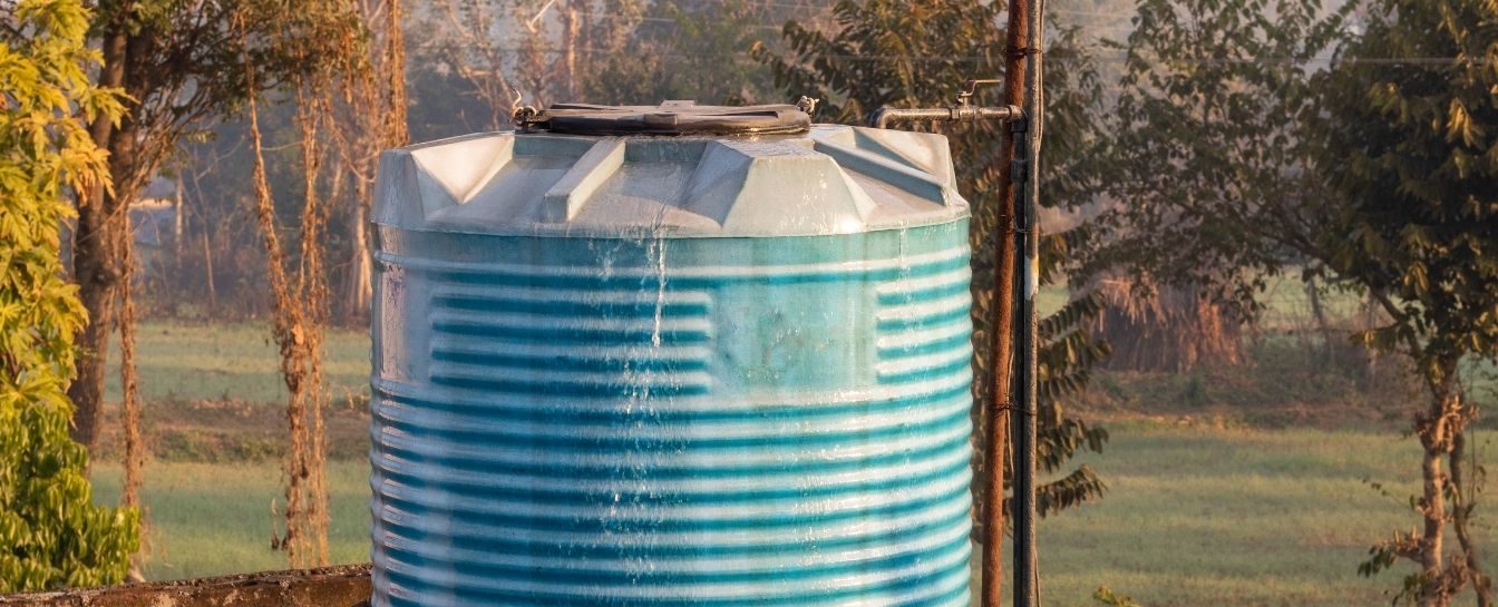 Water tank overflow repair